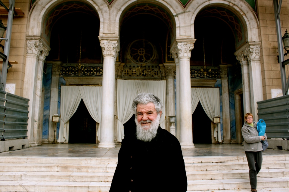 Priest of Athens Cathedral